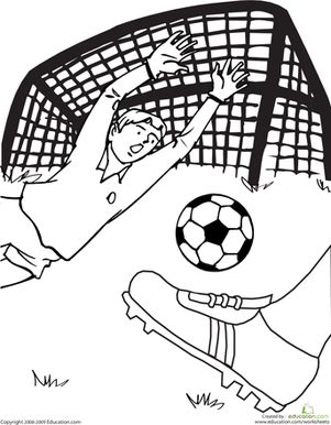 74 best colorear images on Pinterest Coloring pages Soccer and
