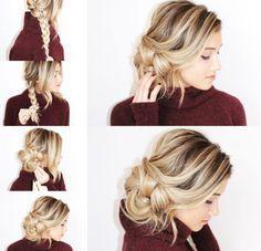 Peinado de lado paso a paso #peinadoscontrenzas