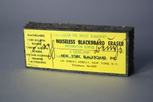 Noiseless Blackboard Eraser 1974