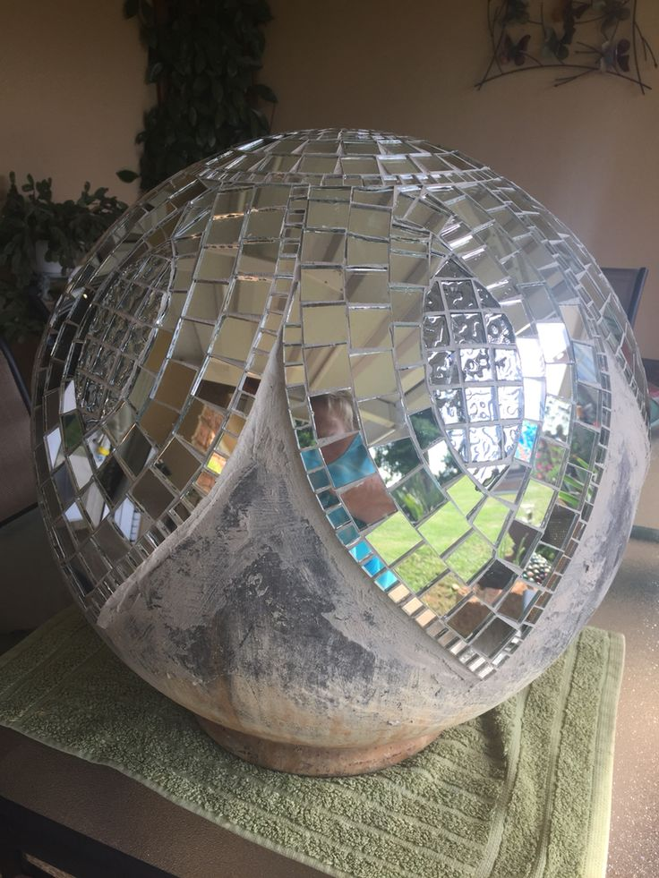 My water feature ball