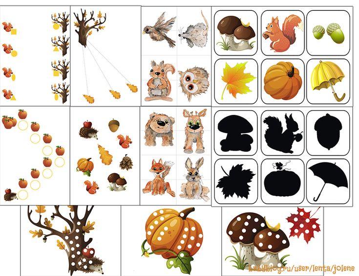 Осенний комплект заданий для малышей. Раздача - Babyblog.ru