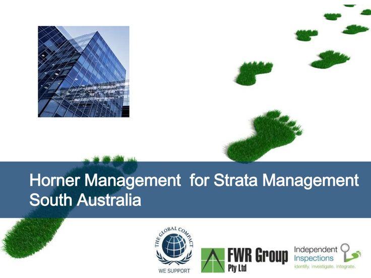 Strata Schemes Management Act South Australia Horner Management by Peter Greenham via slideshare http://iigi.com.au/services/strata-services/