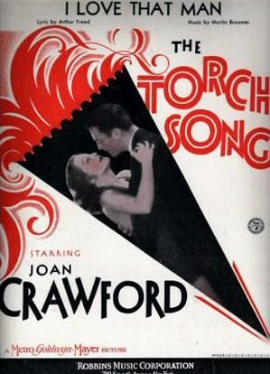"Pre-Code  Sheet music for ""The Torch Song"" (1931) yet another title bandied about for  ""Laughing Sinners"""