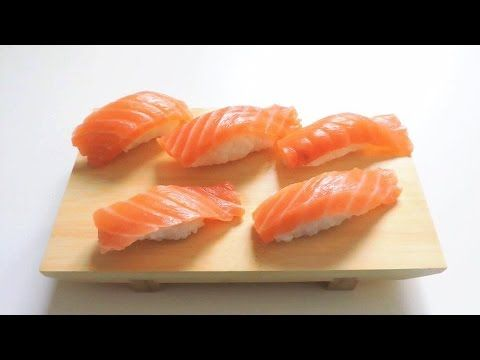COME FARE IL SUSHI IN CASA: NIGHIRI !! | Sakuralexia - YouTube