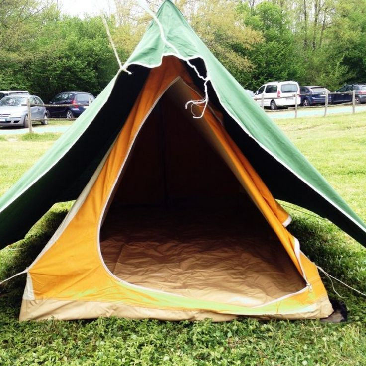 Io sto con la tenda.