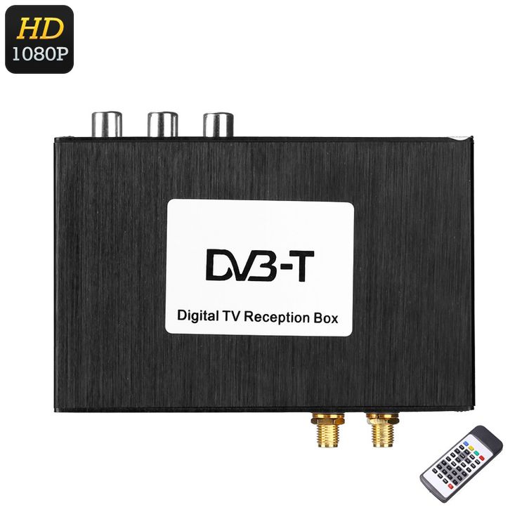 Digital TV Receiver Box - Two Way Video, Multi-Language Subtitle Support, Dual Antenna, 1080p Support, Wide Frequency Range - This Digital TV Receiver Box is a great car gadget that allows you to watch your favorite films and movies while you're on holiday abroad.