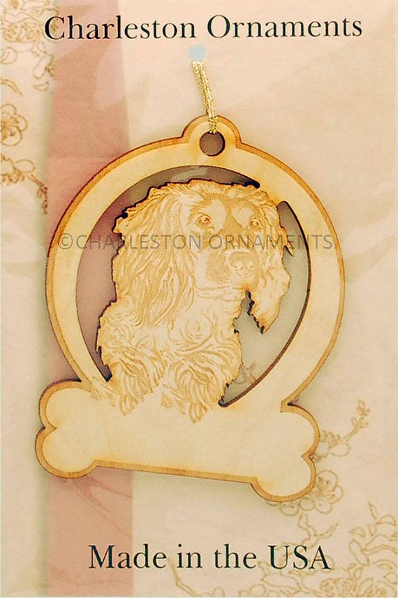 Custom Engraved Boykin Spaniel Ornament by PalmettoEngraving