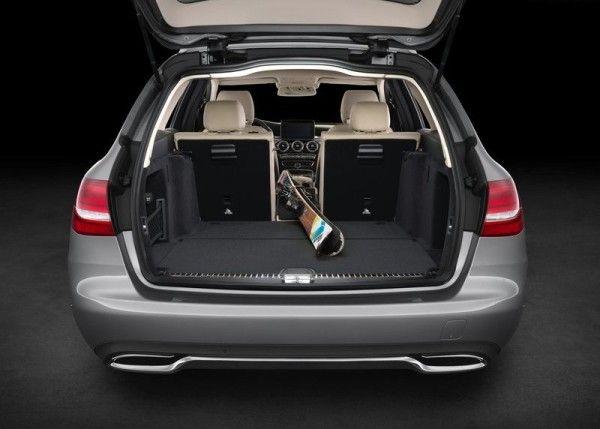 2015 Mercedes Benz C Class Estate Luggage 600x429 2015 Mercedes Benz C Class Estate