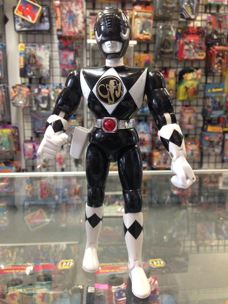 Ban Dai Mighty Morphin Power Rangers Karate Kick Zack