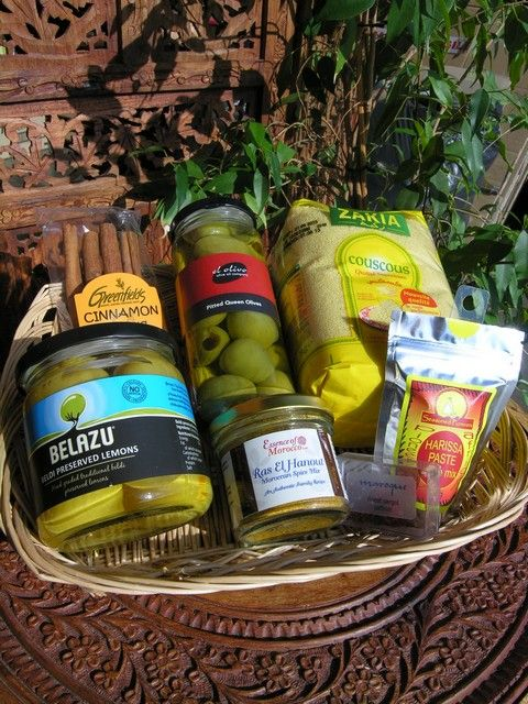 Moroccan ingredients starter set. http://www.maroque.co.uk/showitem.aspx?id=ENT06437&p=00739&n=all
