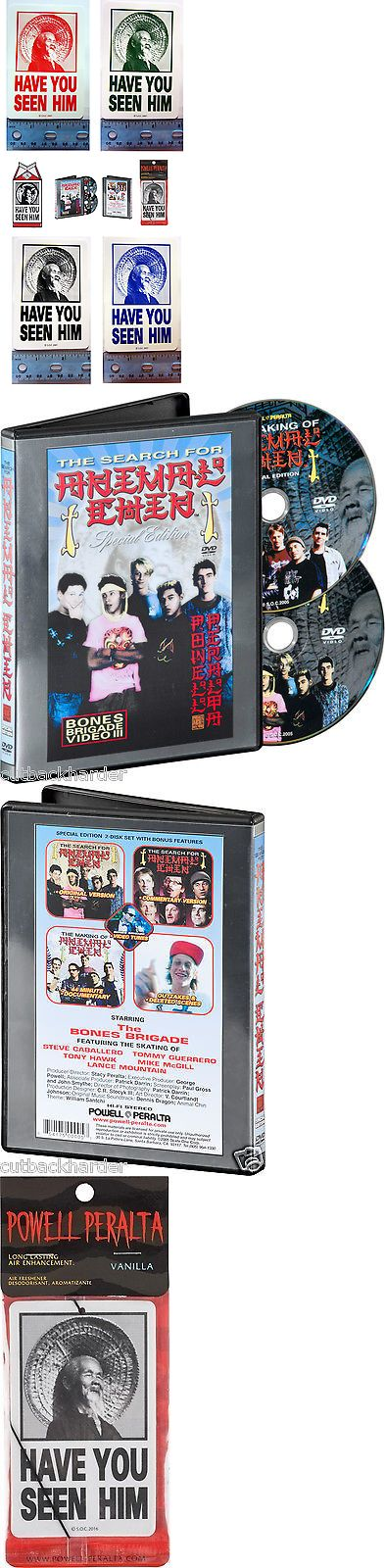 Books and Video 58128: Powell Peralta Animal Chin Skateboard Dvd Sticker Pin Air Freshner 7 Pc Set New -> BUY IT NOW ONLY: $54.95 on eBay!