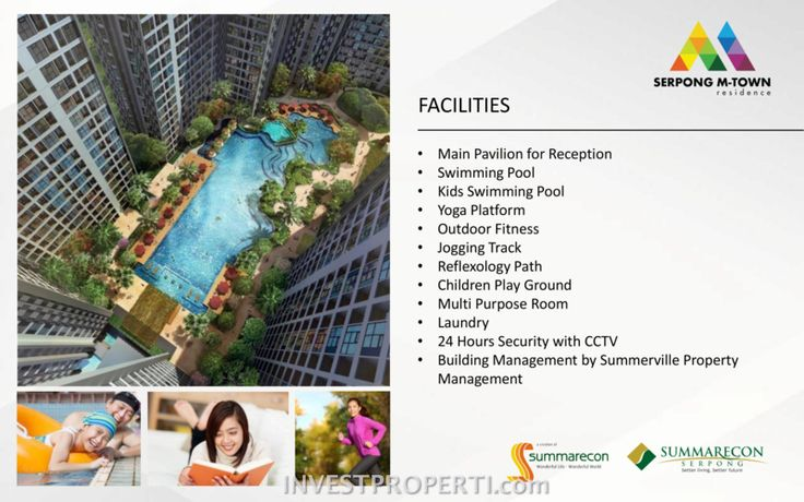 Serpong M-Town Residence Facilities