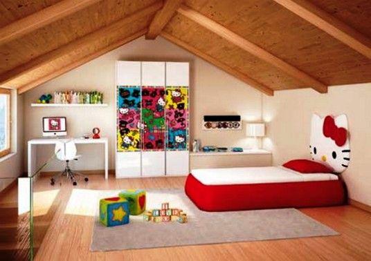 49 best hello kitty room ideas images on pinterest hello. Black Bedroom Furniture Sets. Home Design Ideas