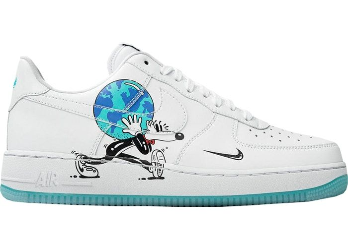 congelado entrenador Opinión  Nike Air Force 1 Flyleather Steve Harrington Earth Day (2019) | Nike air  force, Nike air, Black nikes