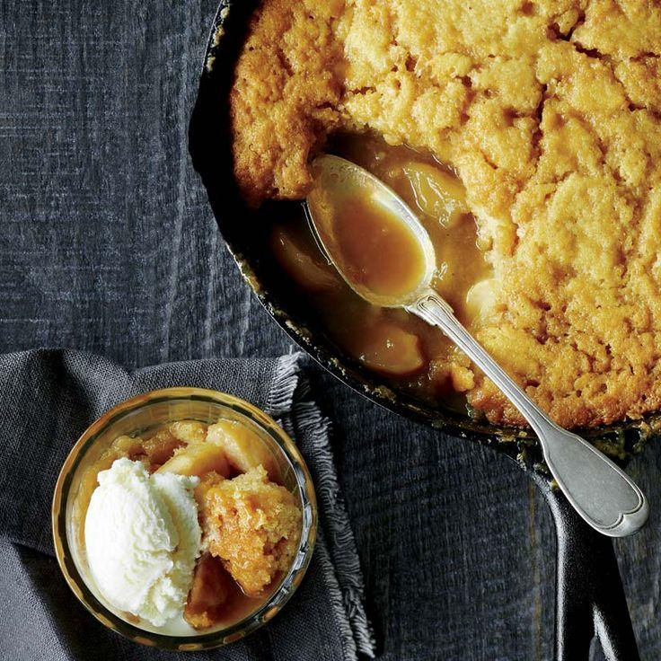 Pouding chômeur aux pommes et à l'érable | recettes.qc.ca
