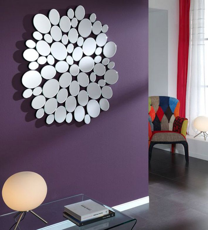 1000 ideas about espejos de pared decorativos en for Espejos circulares pared