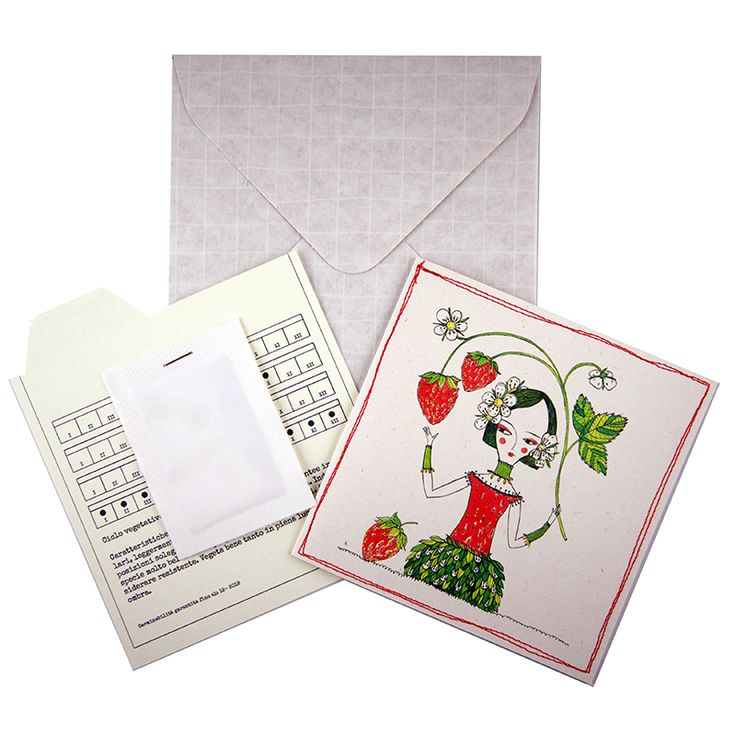 Seeds greeting cards by Rosso Cuore e Dora Creminati #rossocuoredoracreminati