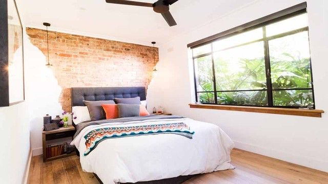 reno rumble bedroom 2015 love the exposed brick with plaster