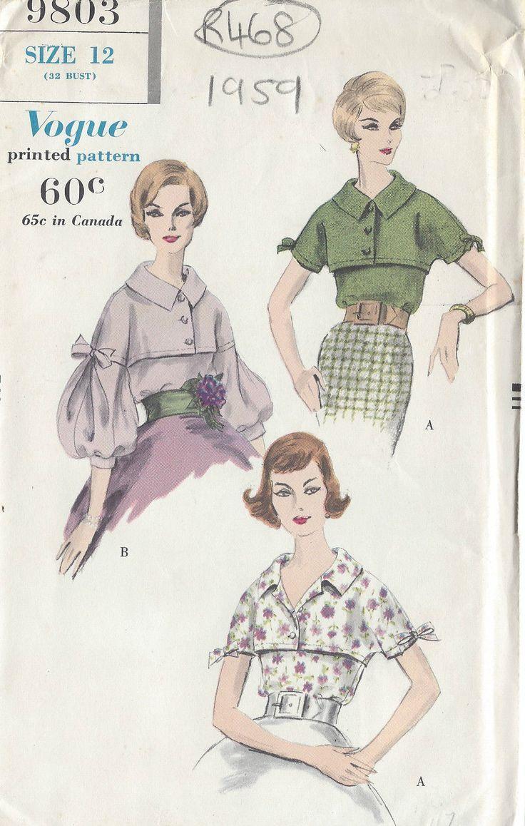 For many more Vintage Sewing Patterns visit my eBay shop                                      …
