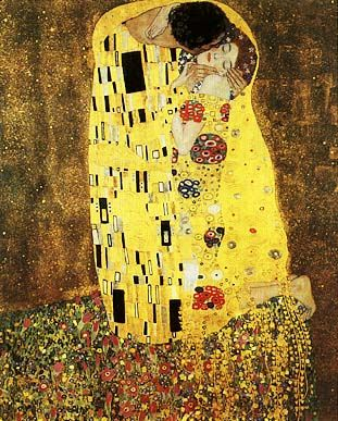 Il bacio, Gustav Klimt, 1907