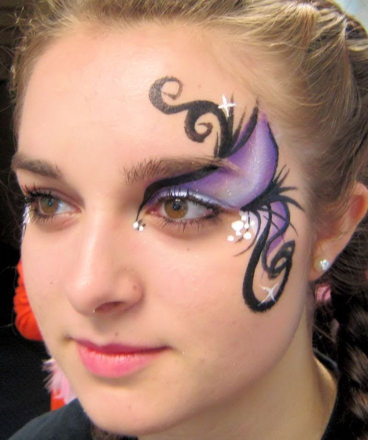 25 best adult teen face paint ideas images on pinterest for Latest face painting designs