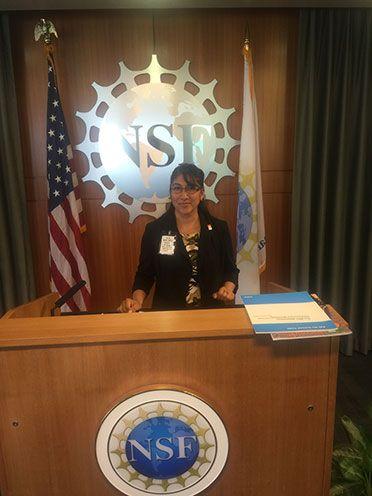 ASU Student Pauline Victoria Martinez lands prestigious internship at the National Science Foundation.