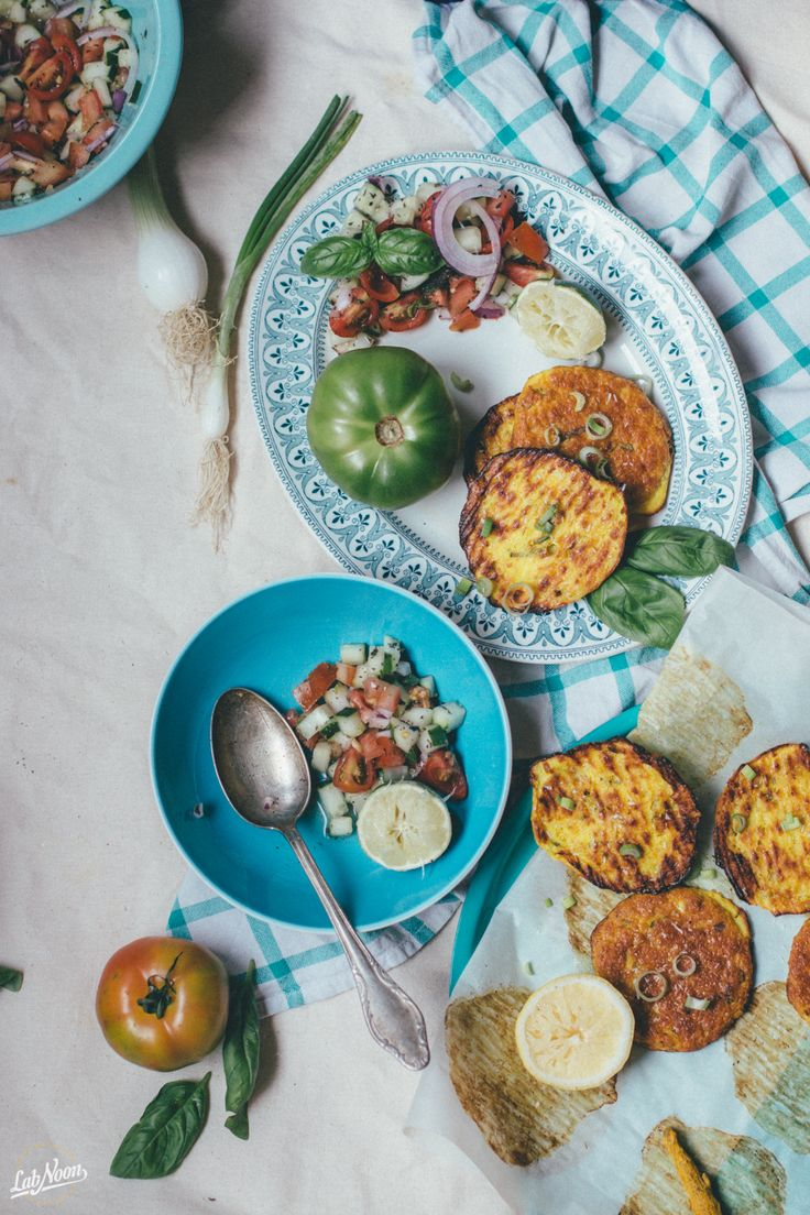 Frittelle Senza Glutine e Insalata Persiana | Lab Noon
