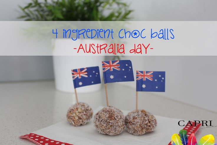 4 Ingredient Milo Choc Balls recipe for Australia Day