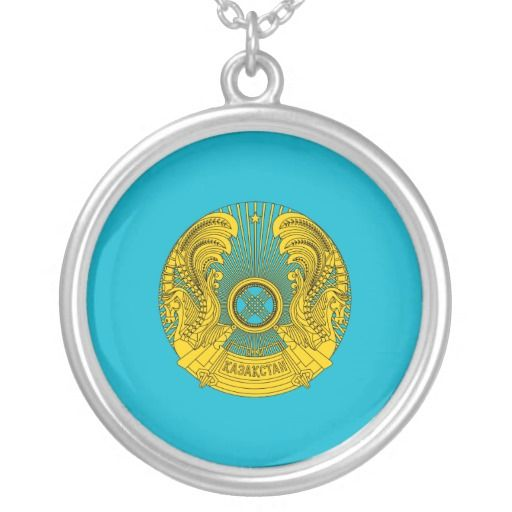 Kazakh coat of arms pendants