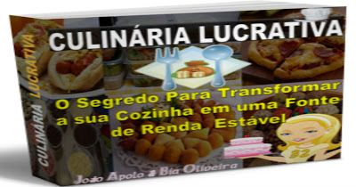 JRF: Culinária Lucrativa O Culinária Lucrativa é um óti...