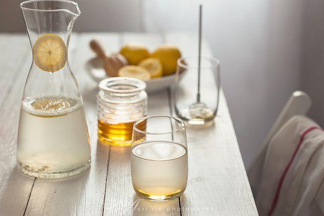 Limone e miele, un toccasana -  #glassislife #vetro