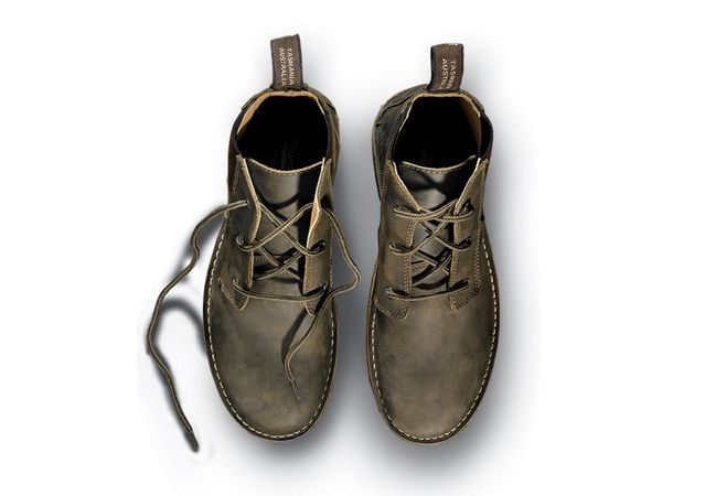 """Because their burly out-soles can handle just about any abuse—and because they look good enough to wear to fancy dinners— @Blundstone USA's slip-on boots have long been popular around the office. Now, with the 268, you get all that plus laces."" @Outside Magazine's 2012 Holiday Gift Guide"