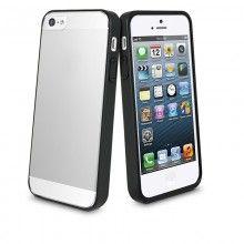 Forro iPhone 5 Bimat Muvit - Negra con Protector Pantalla  Bs.F. 117,66