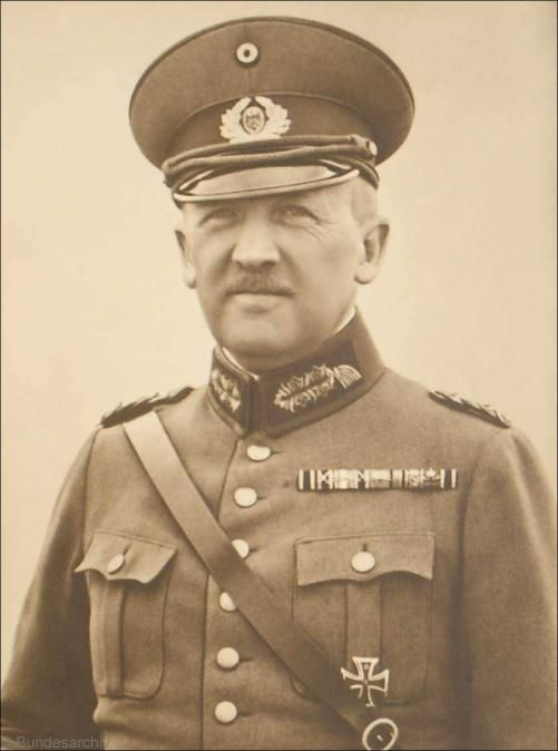 Generalmajor Kurt von Schleicher (1882 - 1934)