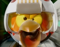 Angry Birds Star Wars Jenga Commercial by Nigel Schütte, via Behance