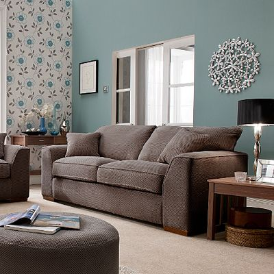 Duck egg wall colour house ideas duck egg blue living - Living room colours to go with grey ...