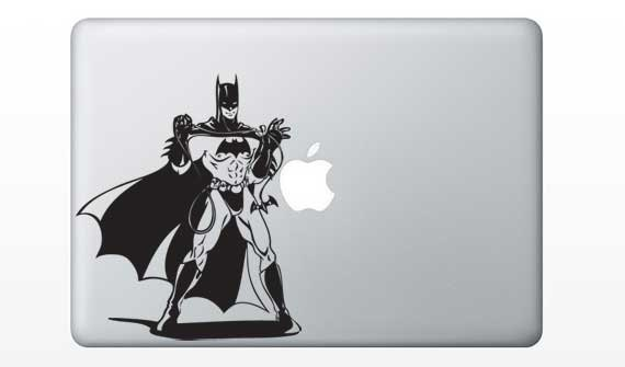 Batman laptop decal by dinaamon