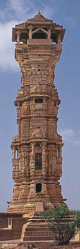 Jain tower Rajasthan, India.