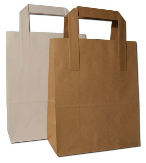 Comparison of Brown Paper Bags with Handles with Rest of Carrier Bags in Market   My Collections   Scoop.it