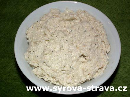 Veganská raw celerová pomazánka (raw food) :: Syrová strava