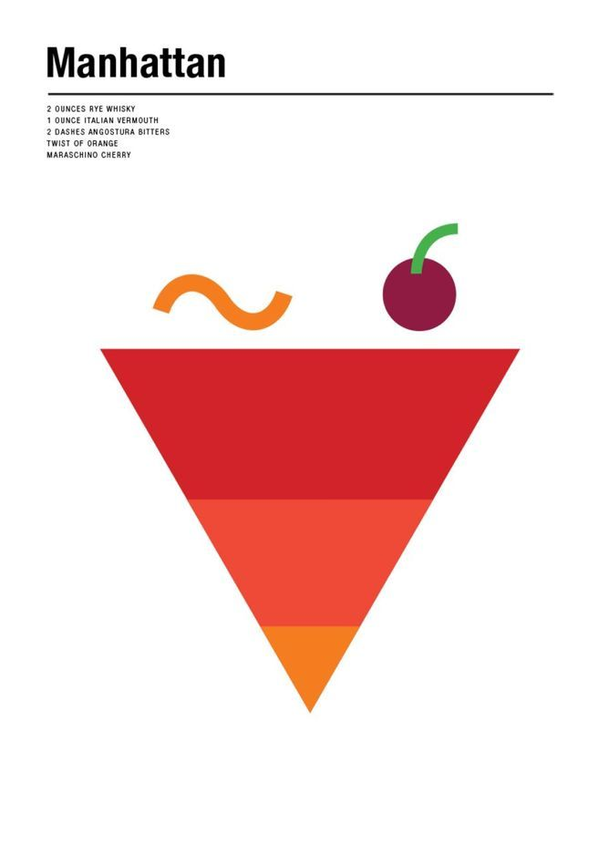 Best Minimalist Cocktail Art Images On Pinterest Brie Drink - Minimal movie posters nick barclay