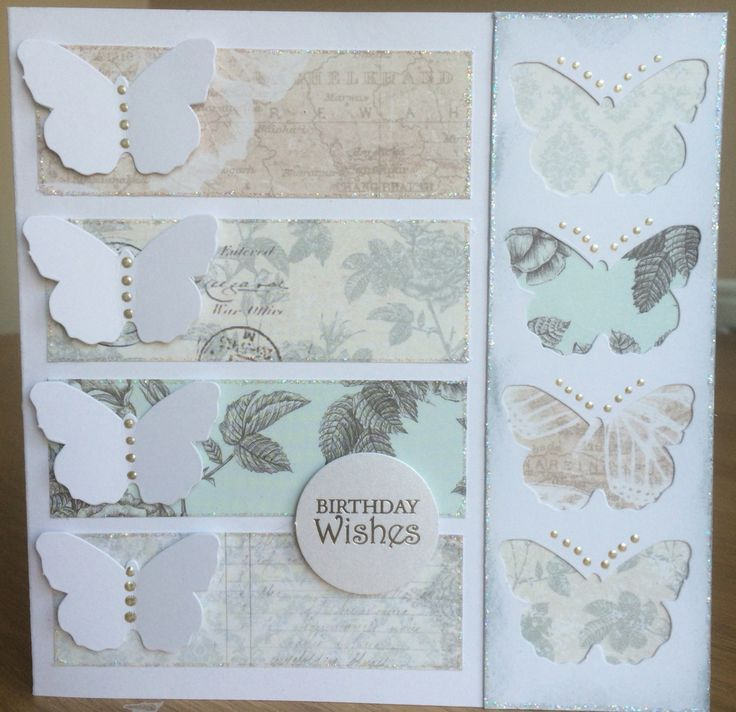 Craftwork Cards Butterfly Parade papers and die cuts by Jo Street