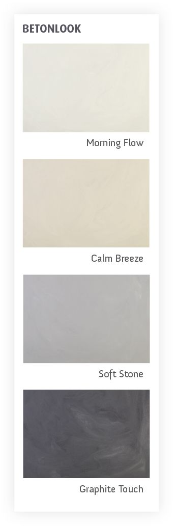 Creëer een representatieve look met koele grijze gietvloer als basis of een 'home-sweet-home' effect met een gietvloer in een warme sfeervolle tint.