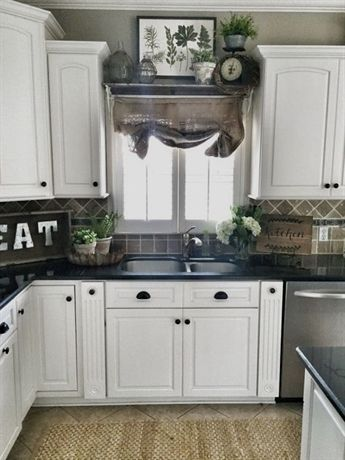 farmhouse kitchen cabinets decorating ideas on a budget 29 rh pinterest com