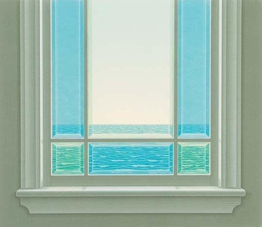Memorial window by Christopher Pratt
