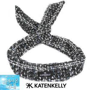 Katenkelly tweed turban hairband