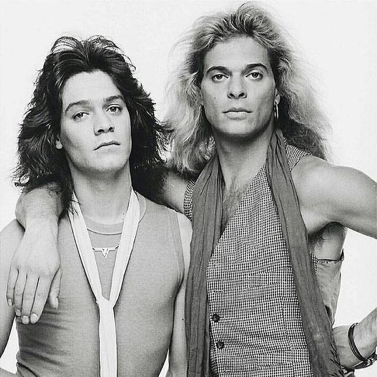 Eddie Van Halen and David Lee Roth