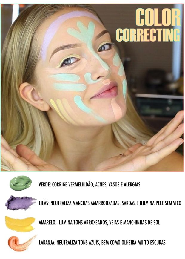 Color Correcting e o guia do corretivo colorido! - Fashionismo