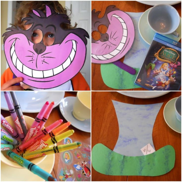 Family movie night family night time ideas pinterest for Alice in wonderland crafts