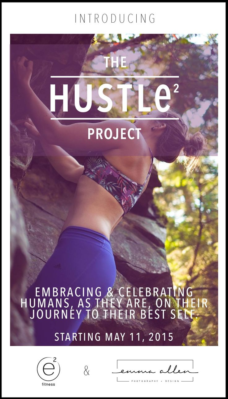 Promo Poster for 'The Hustle Project'